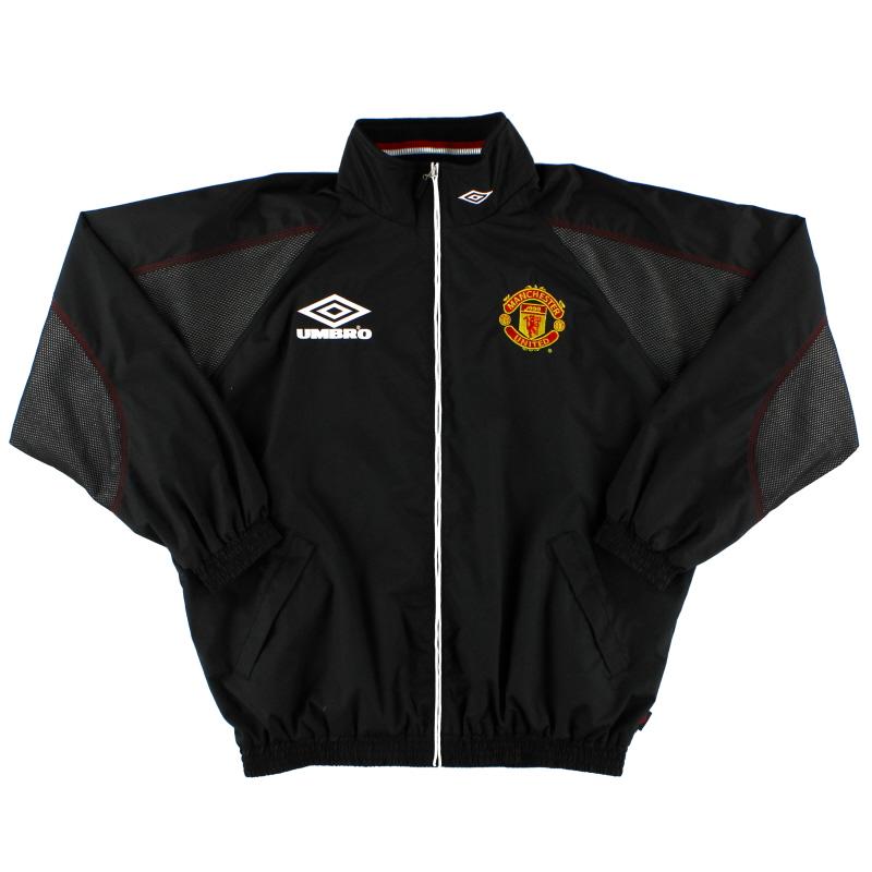 1998-99 Manchester United Umbro Track Jacket M