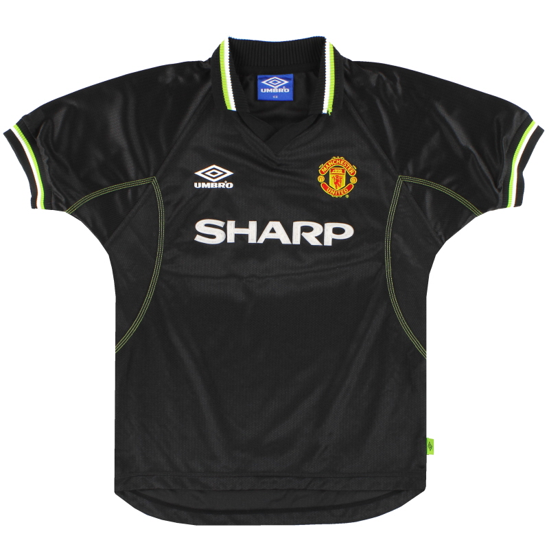 1998-99 Manchester United Umbro Third Shirt L.Boys