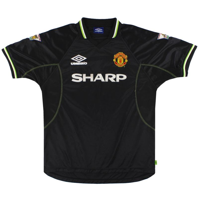 1998-99 Manchester United Umbro Third Shirt XL