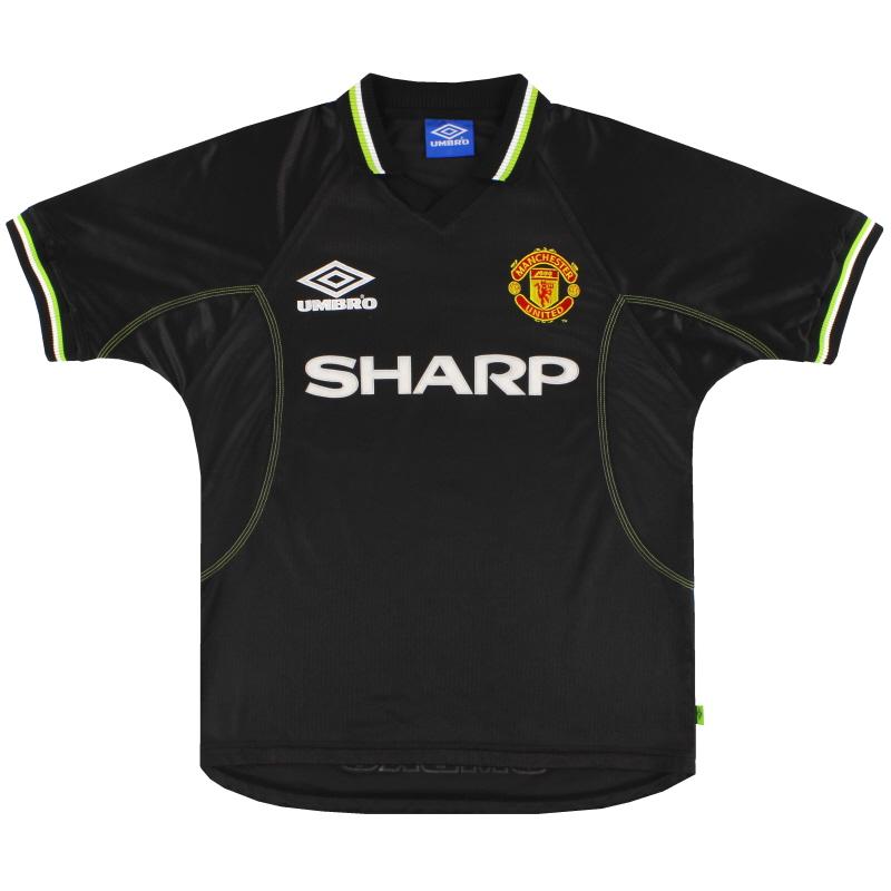 1998-99 Manchester United Umbro Third Shirt *Mint* XL