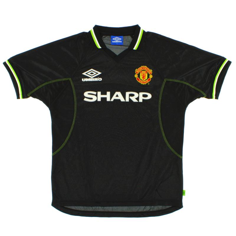 1998-99 Manchester United Umbro Third Shirt L