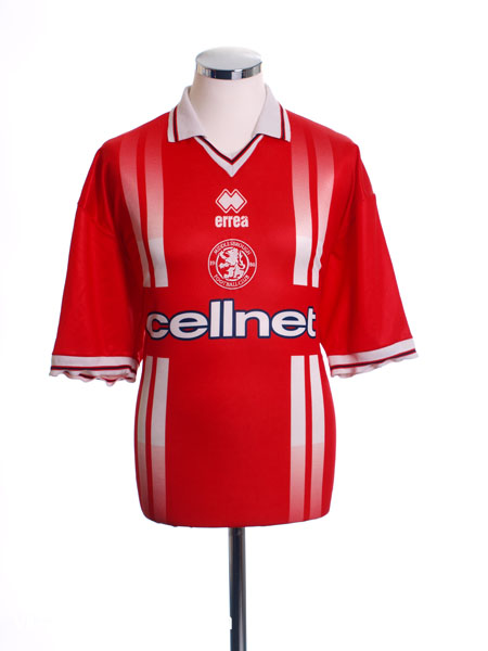 1998-99 Middlesbrough Home Shirt XL