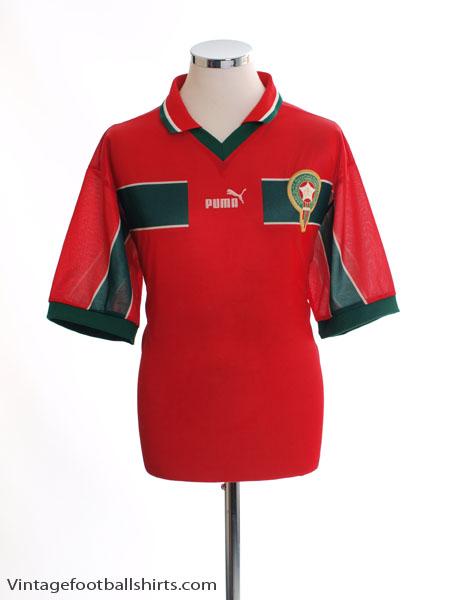 1998-99 Morocco Home Shirt L