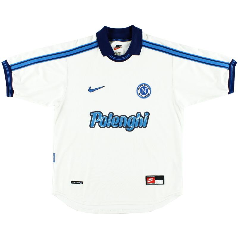 1998-99 Napoli Away Shirt S