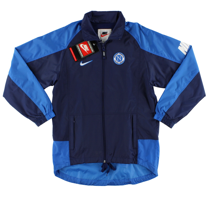 1998-99 Napoli Nike Rain Jacket *w/tags* S - 159821