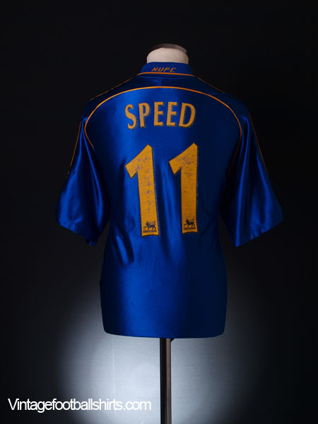 1998-99 Newcastle Away Shirt Speed #11 L