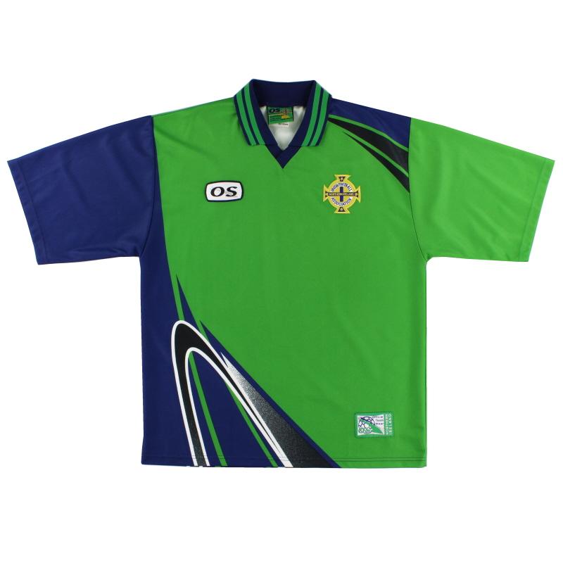 1998-99 Northern Ireland Home Shirt L