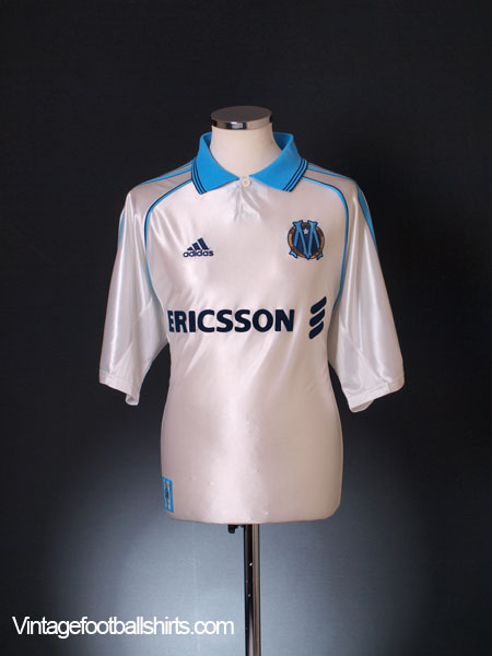 1998-99 Olympique Marseille Centenary Home Shirt L