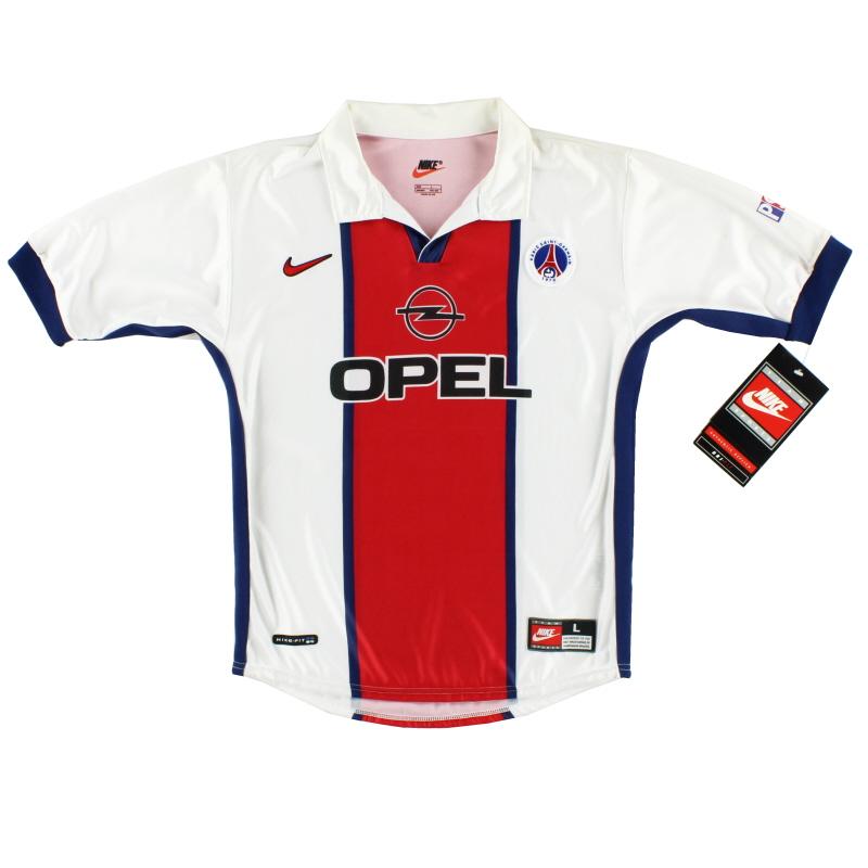 1998-99 Paris Saint-Germain Away Shirt *w/tags* L.Boys - 459339