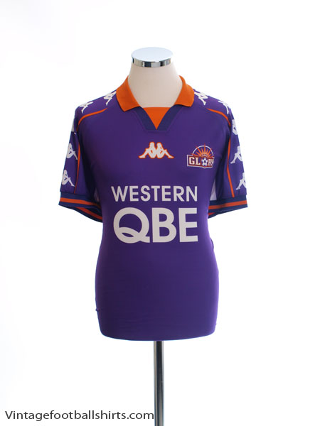 1998-99 Perth Glory Home Shirt *Mint* XL