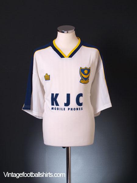 1998-99 Portsmouth Centenary Third Shirt XXL