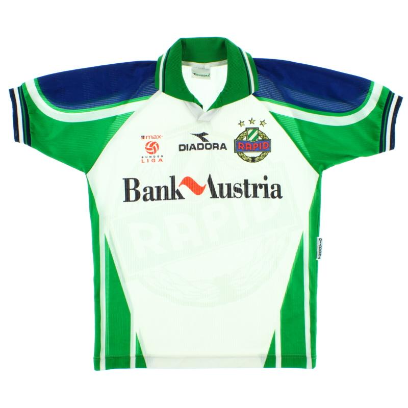 1998-99 Rapid Vienna Home Shirt S