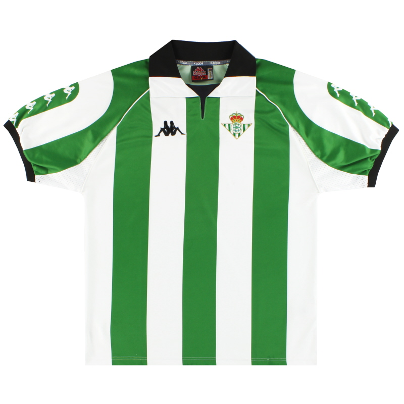 1998-99 Real Betis Kappa Home Shirt M