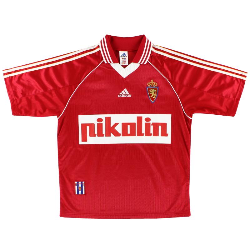 1998-99 Real Zaragoza Third Shirt M