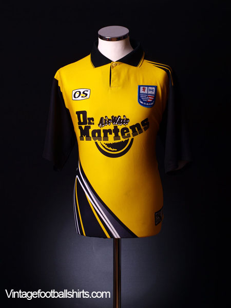 1998-99 Rushden and Diamonds Away Shirt L