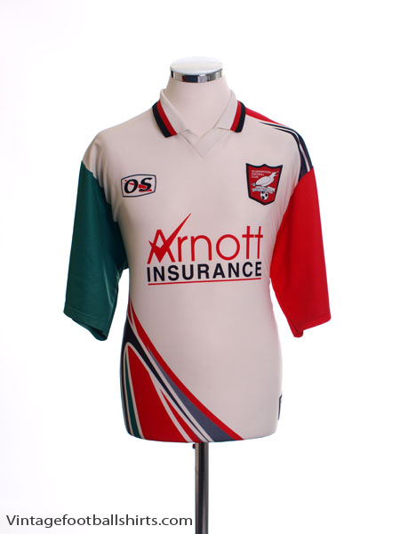 1998-99 Scarborough Home Shirt L