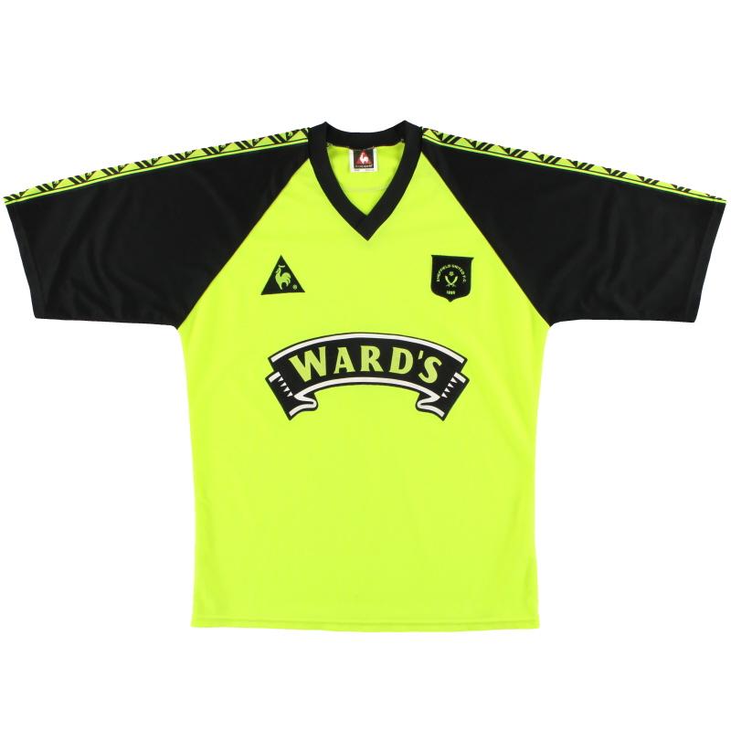 1998-99 Sheffield United Le Coq Sportif Away Shirt S