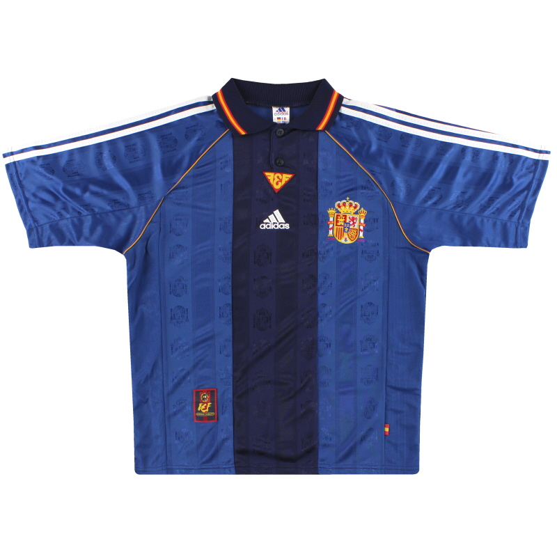 1998-99 Spain adidas Away Shirt Y