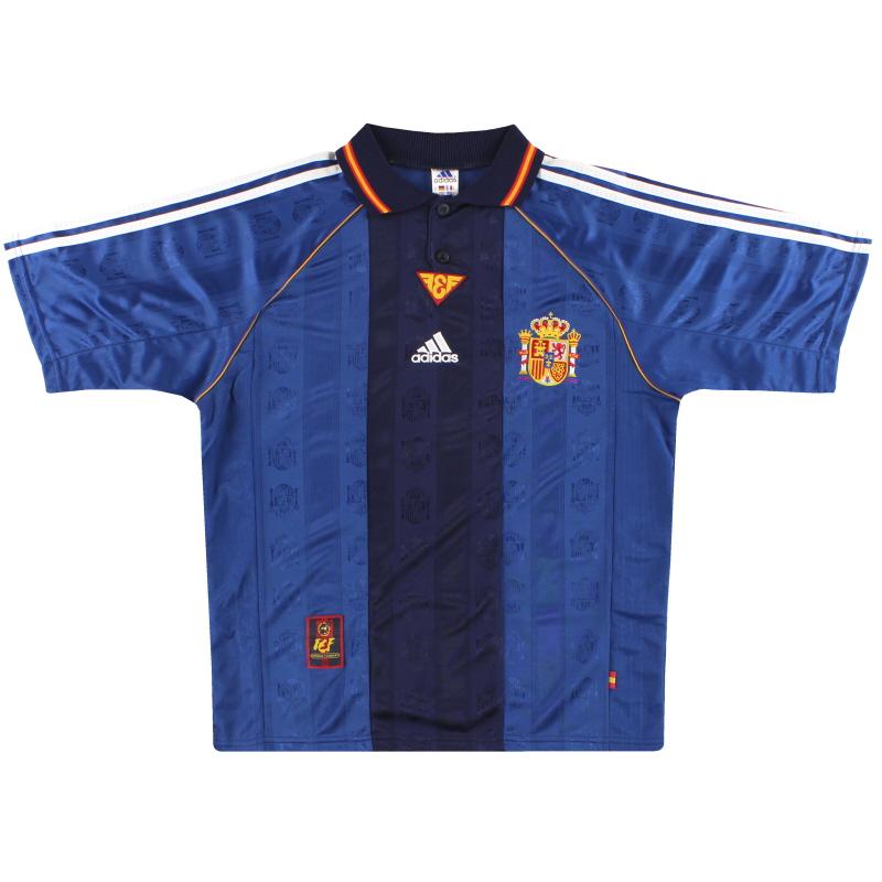 1998-99 Spain adidas Away Shirt *Mint* S