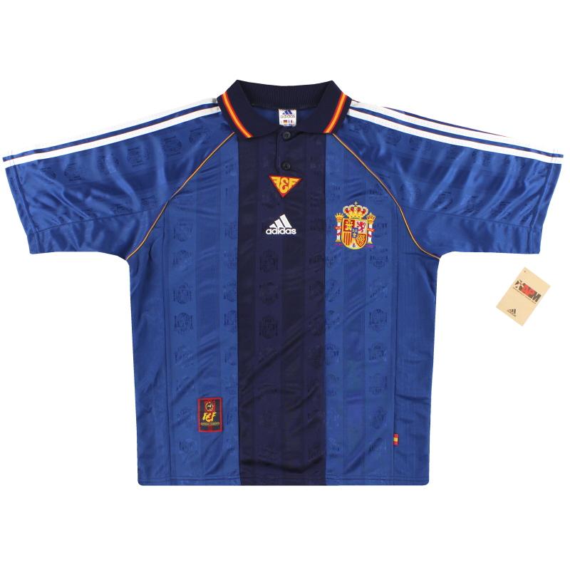 1998-99 Spain adidas Away Shirt *w/tags* M