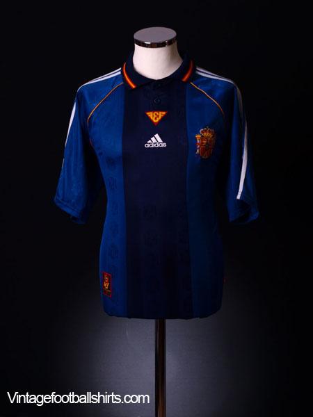 1998-99 Spain Away Shirt L