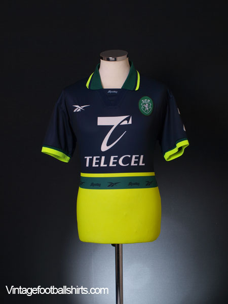 1998-99 Sporting Lisbon Away Shirt S