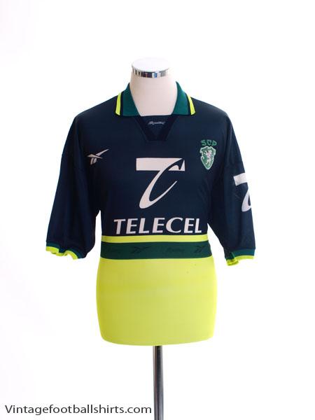 1998-99 Sporting Lisbon Away Shirt L