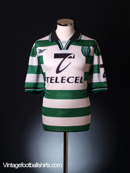1998-99 Sporting Lisbon Home Shirt XL