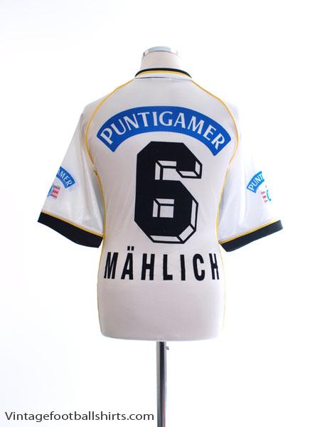 1998-99 Sturm Graz Home Shirt Mahlich #6 M