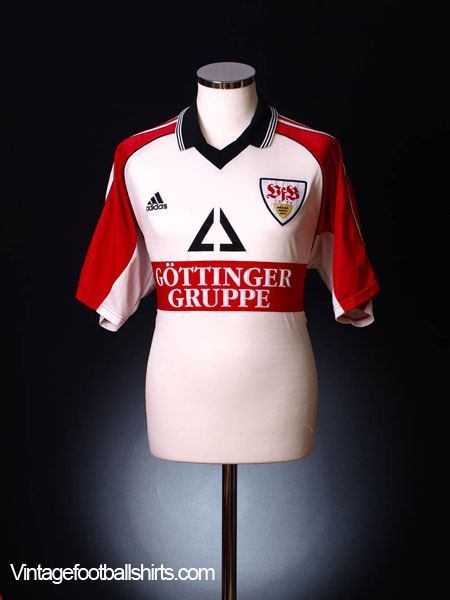 1998-99 Stuttgart Home Shirt *Mint* XXL