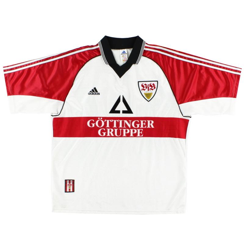 1998-99 Stuttgart adidas Home Shirt S