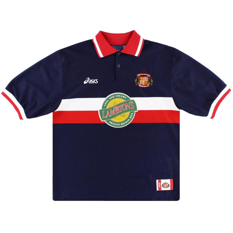 1998-99 Sunderland Asics Away Shirt XL