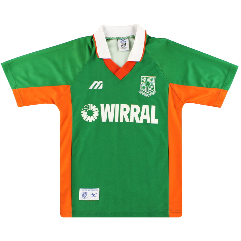 1998-99 Tranmere Mizuno Away Shirt S