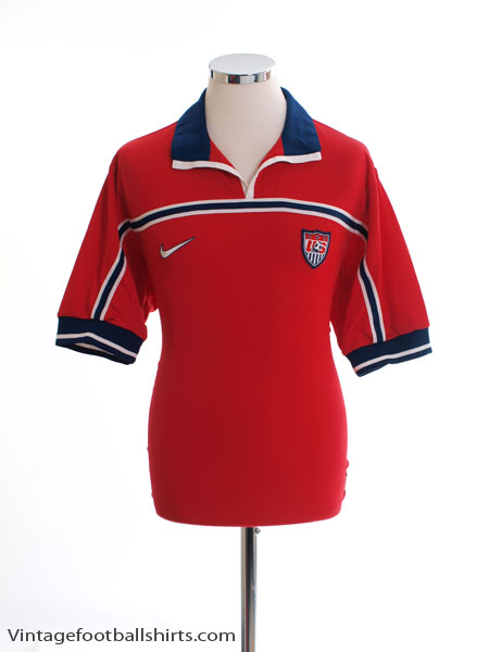 1998-99 USA Away Shirt M