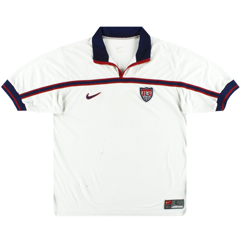1998-99 USA Nike Home Shirt L