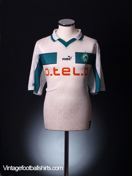 1998-99 Werder Bremen Away Shirt L
