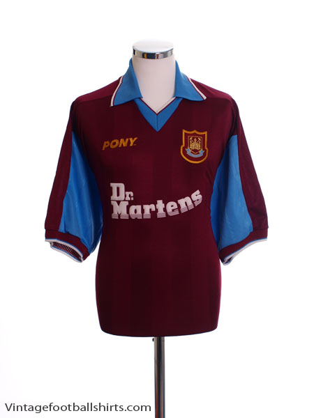 1998-99 West Ham Home Shirt L