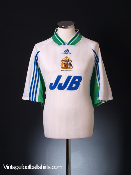 1998-99 Wigan Away Shirt XL