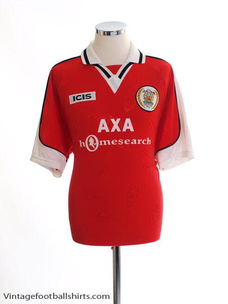 1998-99 Workington AFC Home Shirt L