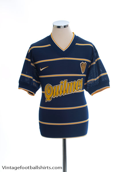 1998 Boca Juniors Cup Home Shirt M