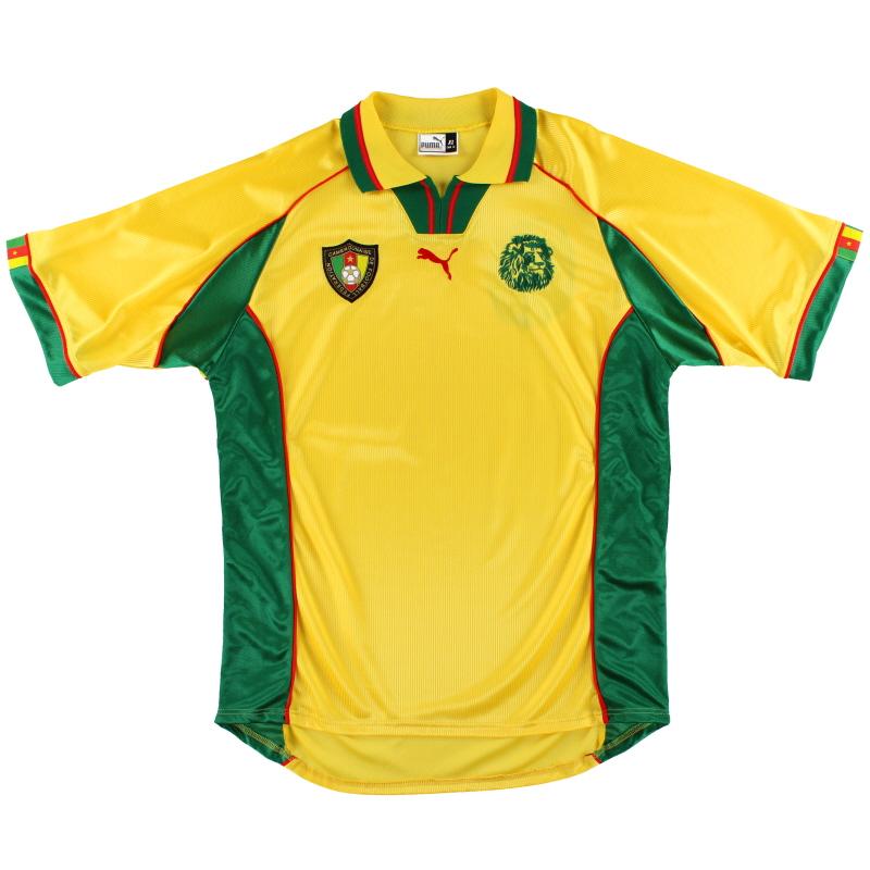 1998 Cameroon Puma Away Shirt XL