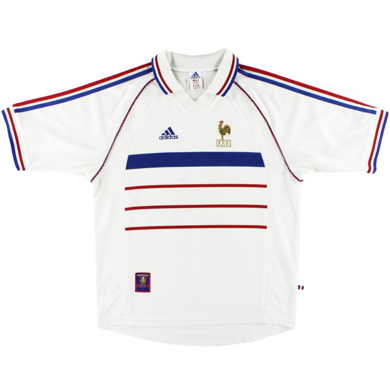 1998 France adidas Away Shirt L