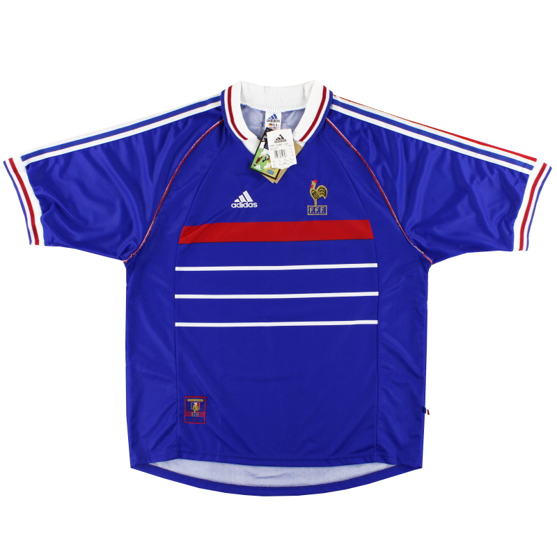 1998 France adidas Home Shirt *w/tags* XL - 604870