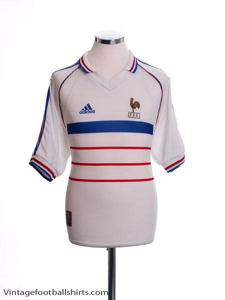1998 France Away Shirt Y