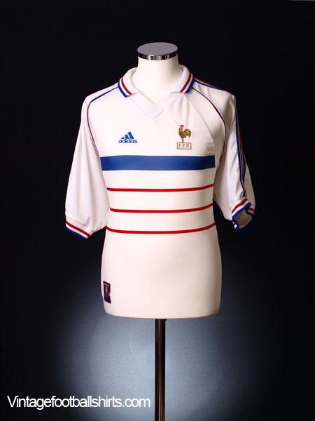 1998 France Away Shirt M