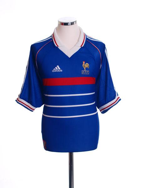 1998 France Home Shirt M