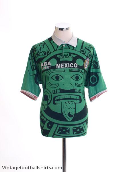 1998 Mexico Home Shirt L