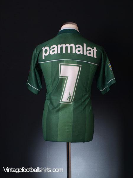 1998 Palmeiras Home Shirt #7 L
