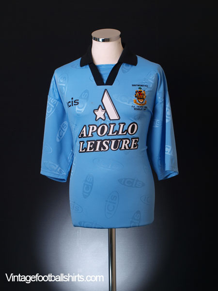 1998 Southport 'FA Trophy Final' Away Shirt XL