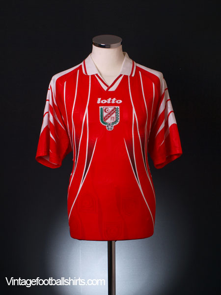 1998 Tunisia Home Shirt L
